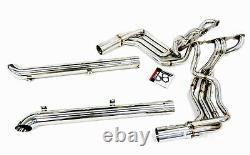 Obx Racing Long Tube Header S'adapte 1965-82 Chevy Corvette C2 C3 Stingray Sbc V8