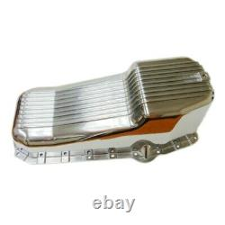 Pane D'huile D'aluminium Poli Fin 80-85 Petit Bloc Sbc Chevy 305 327 350 5.7