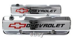 Proform 141-930 Couvercles De Soupape En Aluminium De Grande Hauteur S'adapte Aux Moteurs Chevy De Petit Bloc