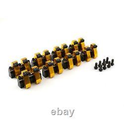 S'adapte Chevy Sbc 350 1.6 Aluminium Shaft Mount Roller Rocker Arm Set. 180 Int