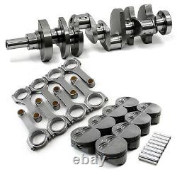 S'adapte Chevy Sbc 350 3.75 383ci 2pc Rms Rotation Assembly Only (c, H 5.7, H +30)