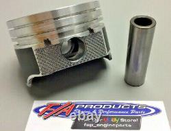 S'adapte Petit Bloc Chevy 350 Moteur Plat Top Pistons Enduits Silvolite 3437hc+. 060