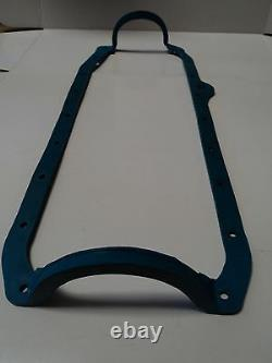 Sbc 1 Piece Oil Pan Gasket Blue 86 Up Late Fits Chevy 305 350 383 400 Moteur