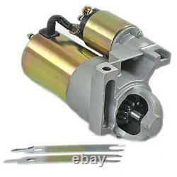 Sbc Bbc Chevy 3hp Haut Torque Mini Démarreur Convient 327 350 400 153 Volant De Dent