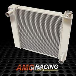 Soudé 22 X 19 X 2.2'' Fabricated Aluminum Racing Radiator Fits Sbc Bbc Chevy